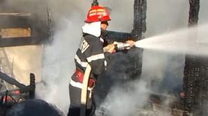 incendiu pompieri